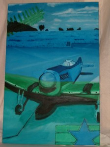 p-51 mustang painting