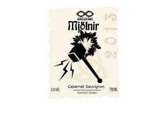 wine labels thor 2013