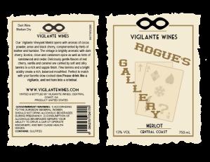 wine label rougue's gallery